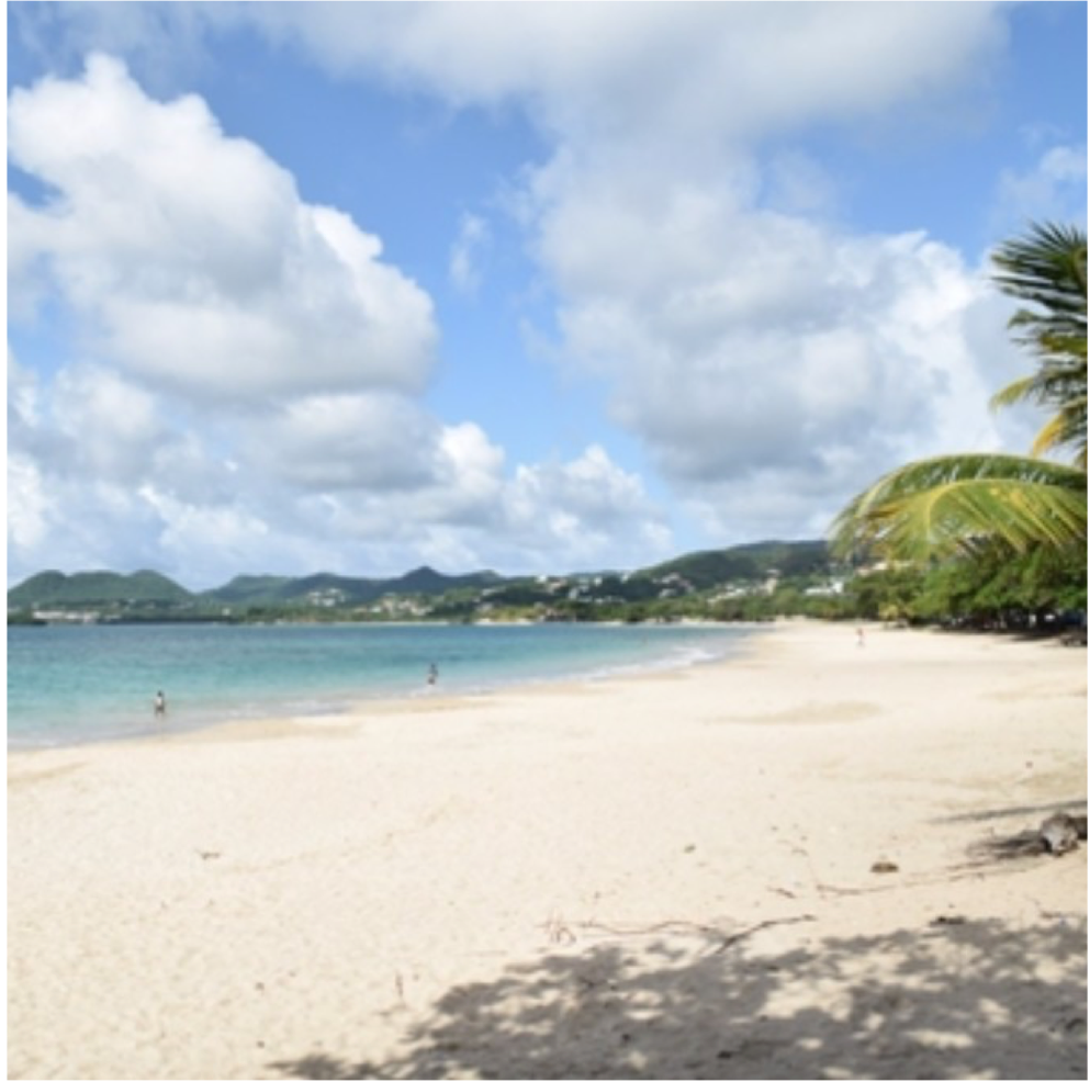 VIGIE BEACH   Vigie Beach is a part of Castries and hosts a great view of the Castries Harbour...  More