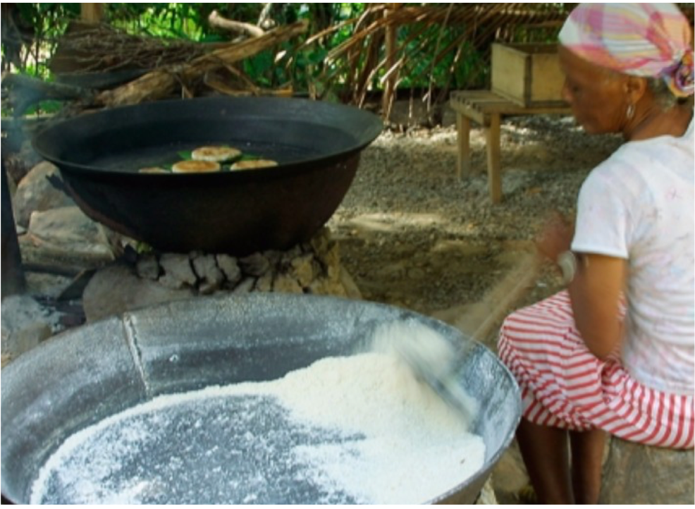 FOND LATISAB CREOLE PARK   Demonstrations of traditional Cassava bread-making, crayfish catching, honey collection and log-sawing, and a live chak chak band, showcasing the island's vibrant Creole heritage.