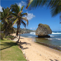 BATHSHEBA BEACH   Bathsheba was the wife of King David, and legend has it that the white sand and ...  More