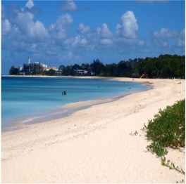 BRANDON'S BEACH   Just outside the capital city of Bridgetown on the west coast of Barbados Island...  More