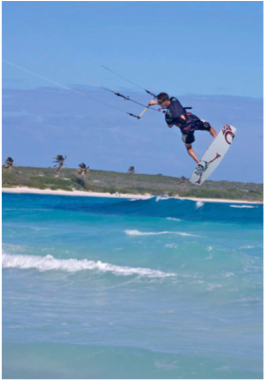 FOR THE MORE ADVENTUROUS   If your holiday is not complete with a touch of adrenaline, locate one of the many operators for a spot of waterskiing, wind anD kite surfing, or even tubing and banana boating!