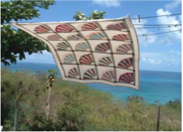 ESTATE HOPE ART STUDIO   Overlooking Crocus Bay, the studio displays the fine textile art of Carol Richardson, including handmade bags, quilts, wall hanging, as well as paintings and other works of art.