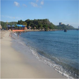 CARACASBAAI   A popular spot amongst locals, divers and snorkelers, this coarse sand and...  More