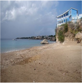 PLAYA FORTI   Different from the island's other beaches, Playa Forti is made of coarse brown...  More