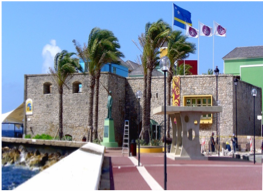 RIF FORT MUSEUM   At the heart of the UNESCO World Heritage site that is historic Willemstad, the Rif Fort museum puts visitors back into a perspective, by adding an extra dimension of what once was the fort's reality, one that now feels so distant from the modern reality of a bright and busy shopping centre.