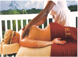 SPA TRANQUILITY AT VERANDAH RESORT     Featuring treatment techniques from around the world such as Sabai Stone treatments and Thai Yoga massage, this spa focuses on the use of natural resources as a solution to physical, emotional and spiritual rejuvenation and well-being.