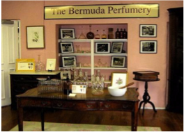 BERMUDA PERFUMERY   With such abundant flora to be found all over the island, it is only logical for Bermuda to has its own perfumery. Take a tour to discover the island's perfume making process and natural scents.