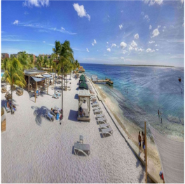 EDEN BEACH   Located at the namesake resort which is home to the Spice Beach Club, this...  More