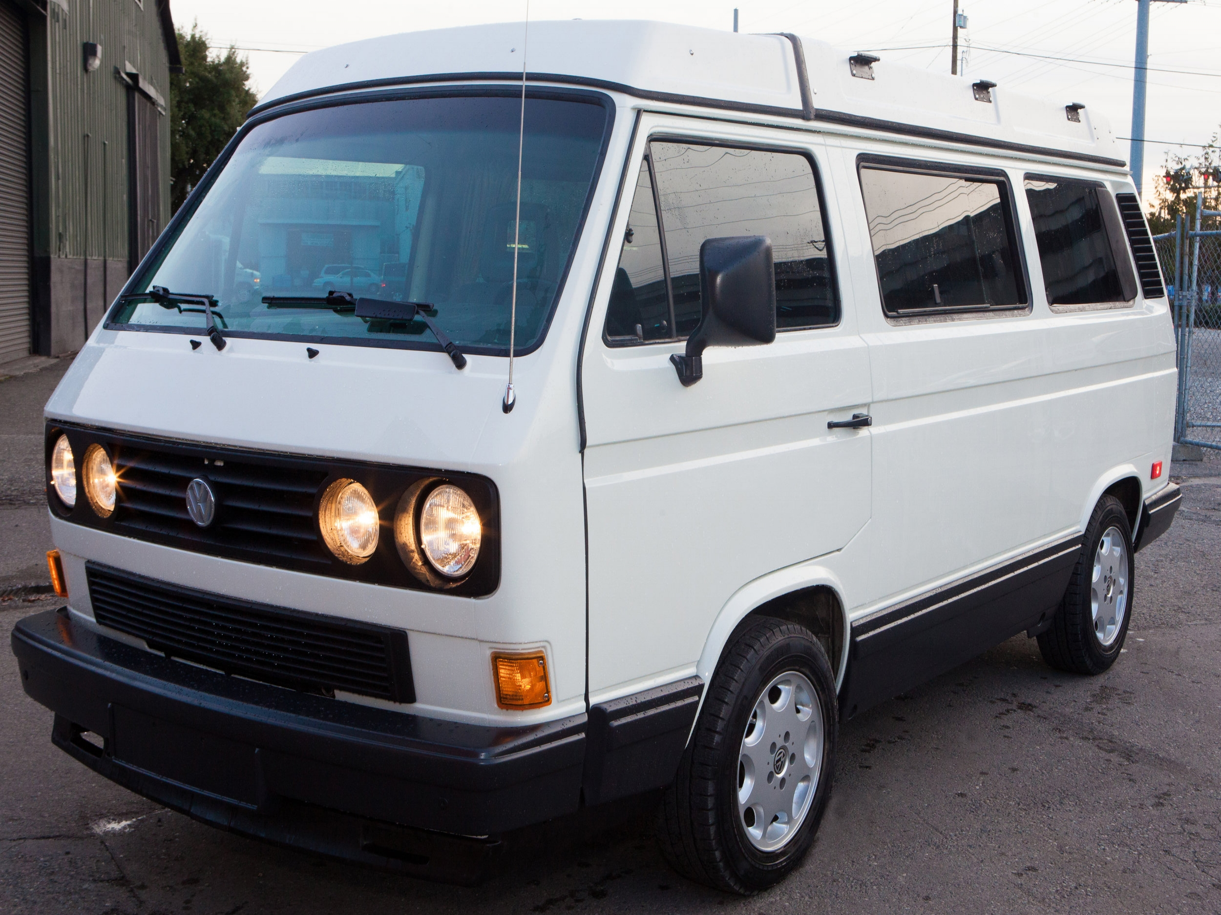 VW Vanagon Body and Paint