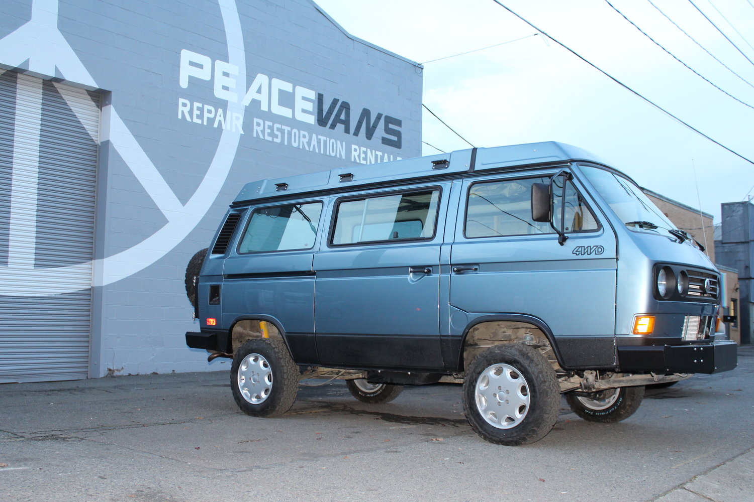 Body and Paint — Peace Vans