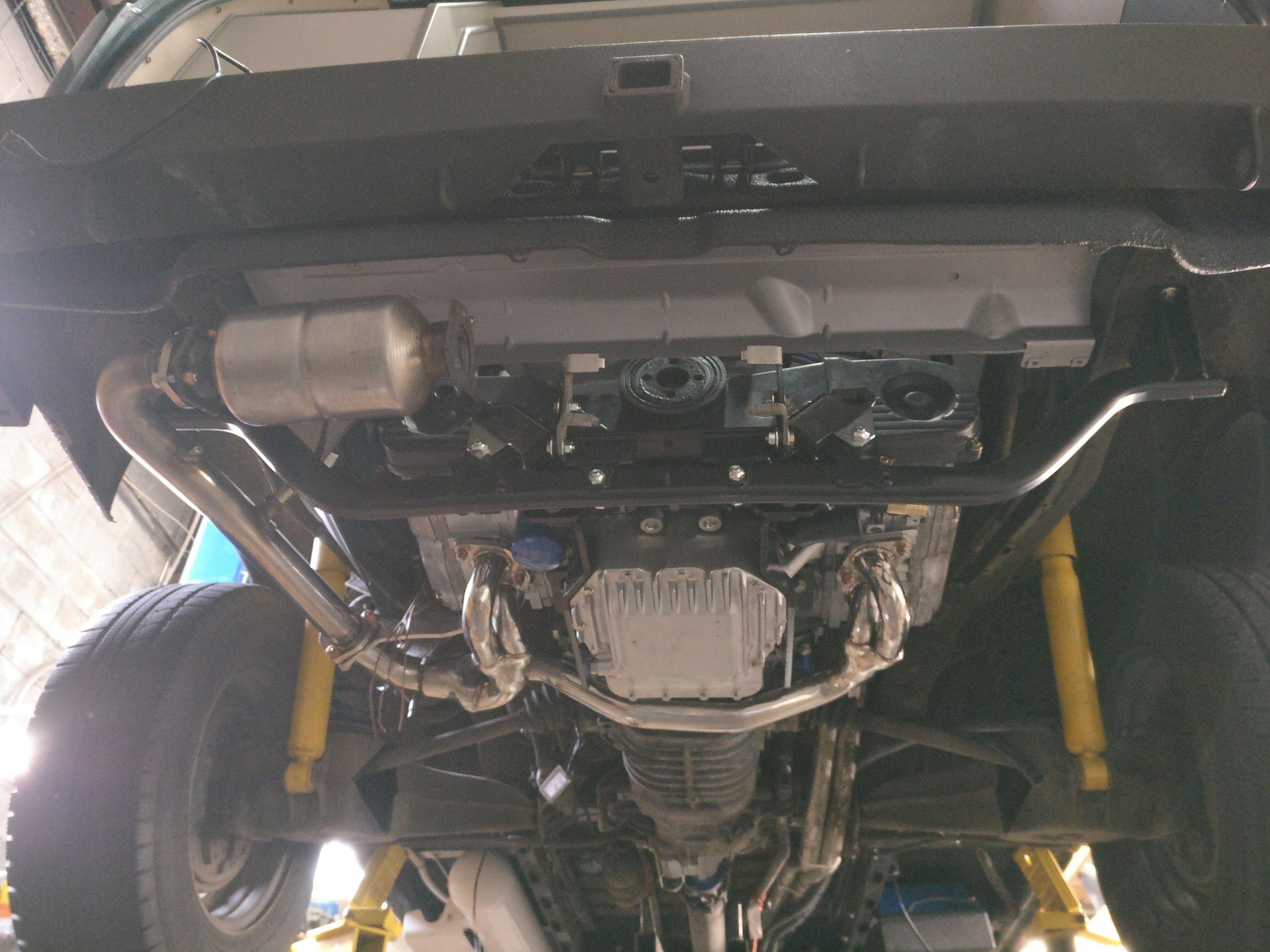 Engine Conversions — Peace Vans