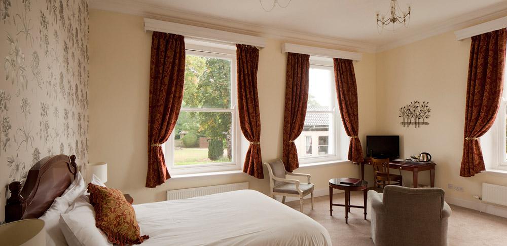Large stylish bedrooms