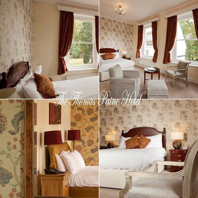 Feel completely at home throughout your stay at The Thomas Paine Hotel in one of our wonderfully designed, spacious rooms!😍 Our accommodation provides 8 uniquely styled Bedrooms, which have been re-furbished to a high standard with king size beds & luxury furnishings!