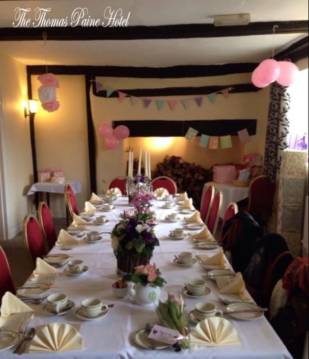 Baby shower? Wedding? Birthday? Christening? Whatever the celebration, we'd love to help you make it special!✨🥂 If you've got a special occasion coming up, speak to our team here at The Thomas Paine Hotel about how we can make it as memorable as possible for you!
