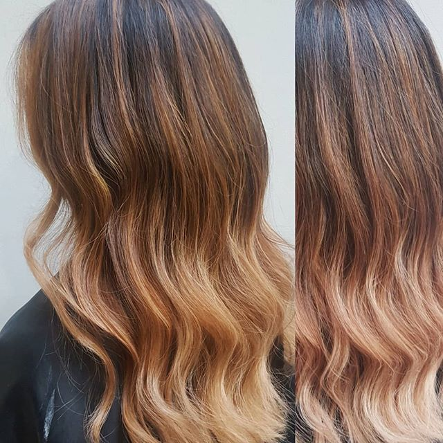 Autumn Winter Colour  #maisalonuk #autumnhair #wintercolours #balayageombre #manchestersalon