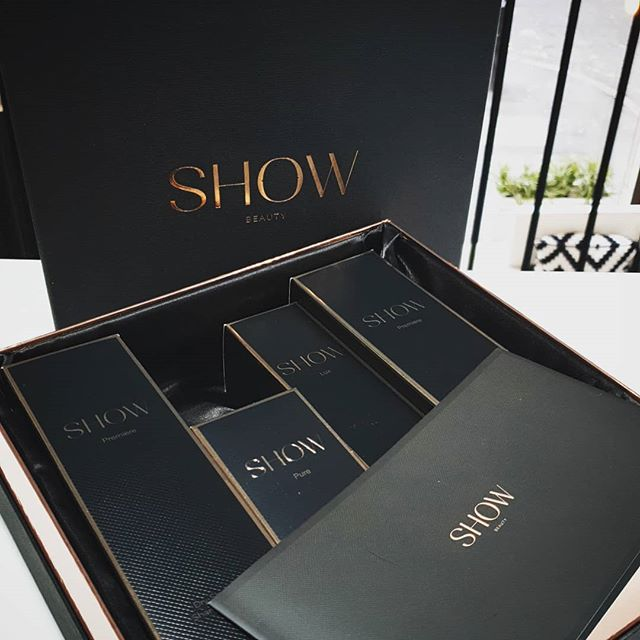 Thank @showbeautyofficial for gifting us with products to trial out. Beautiful packaging.  #showbeauty #maisalonuk #hair #haircare #hairproducts #mcrsalon