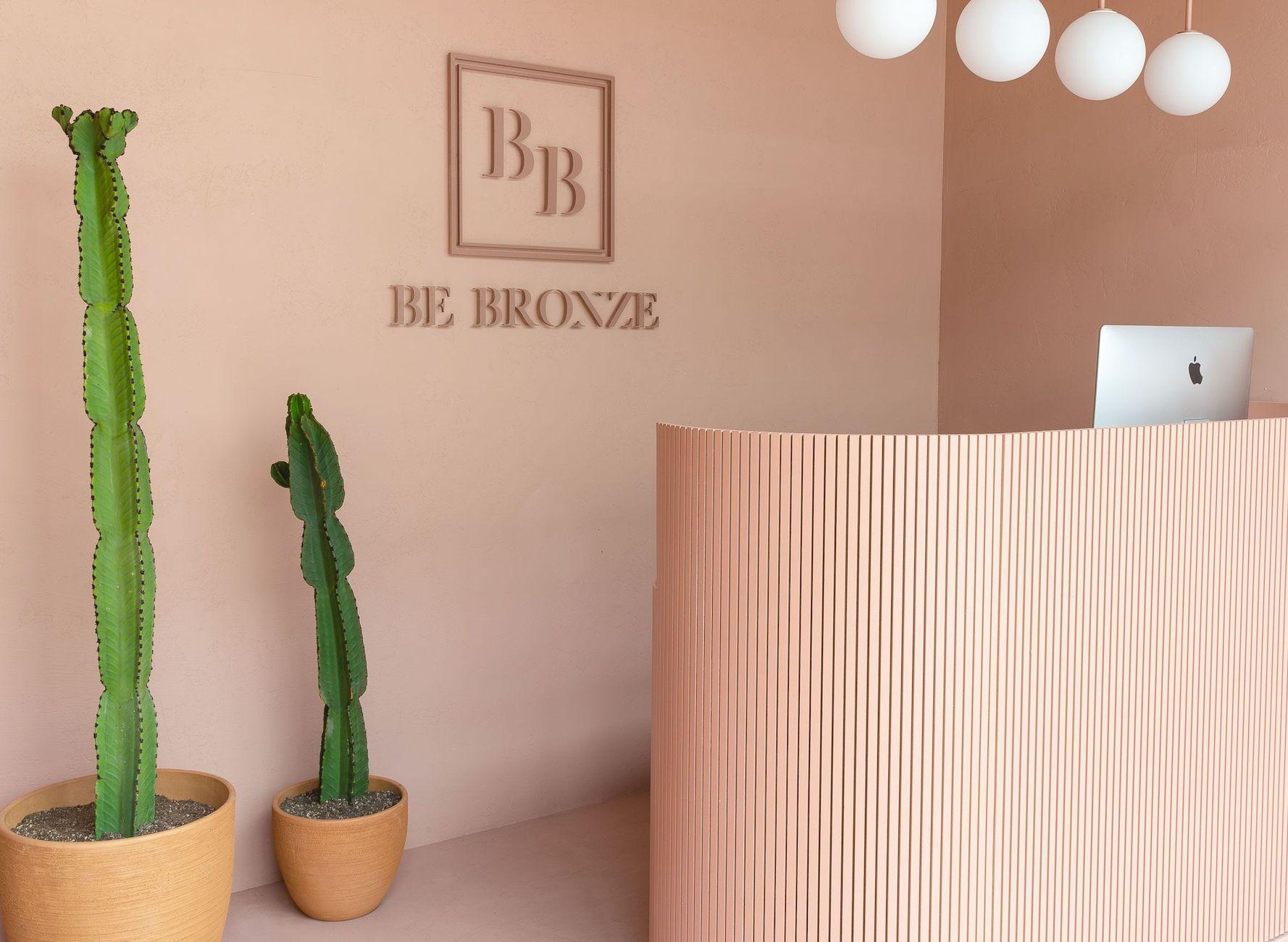 West Hollywood Be Bronze Studio lobby