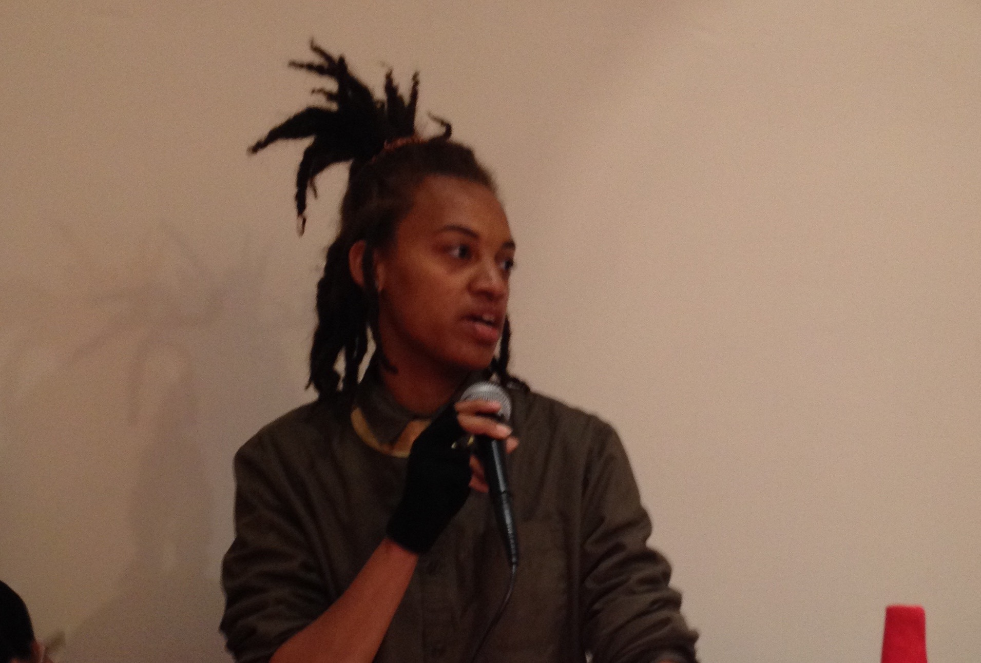 Asia-Vinae Palmer performing an excerpt from Last Call: NOLA