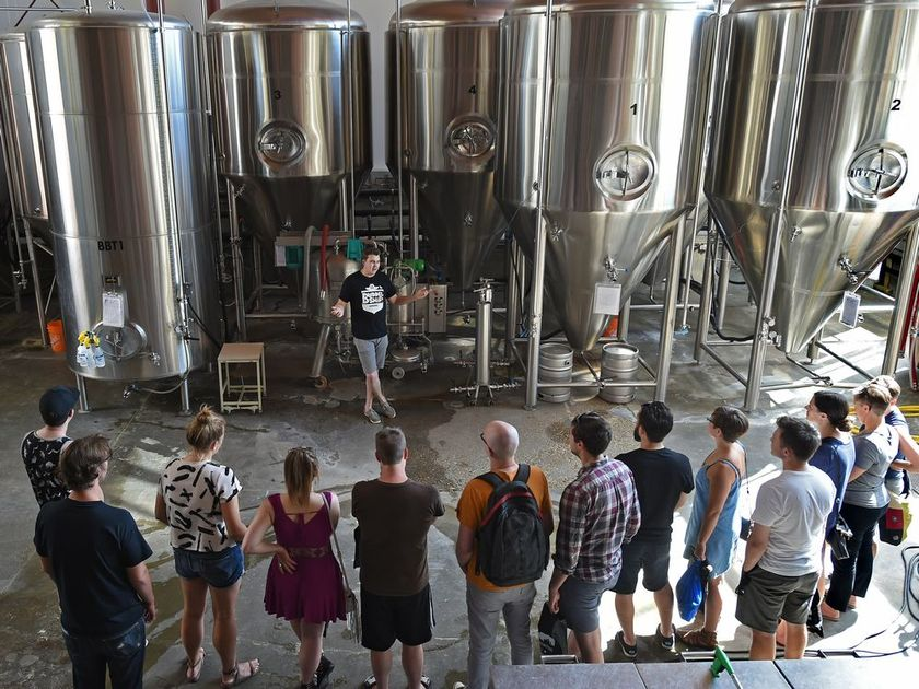 Holiday Season Private Tours  - Are you seeking a unique and delicious experience for your staff holiday party? Treat your team to a guided private tour and meal with Edmonton's best breweries and distilleries.