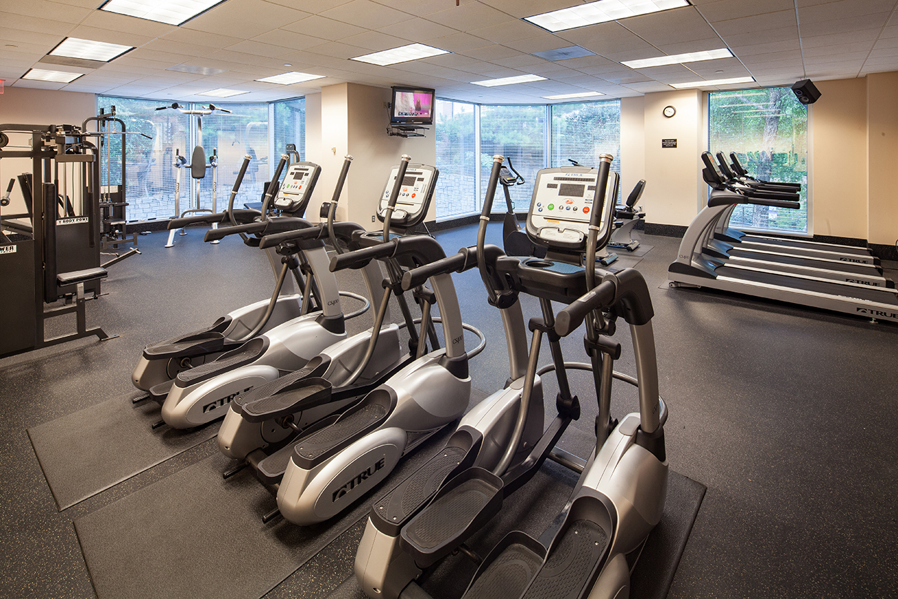 Outfitted Fitness Center