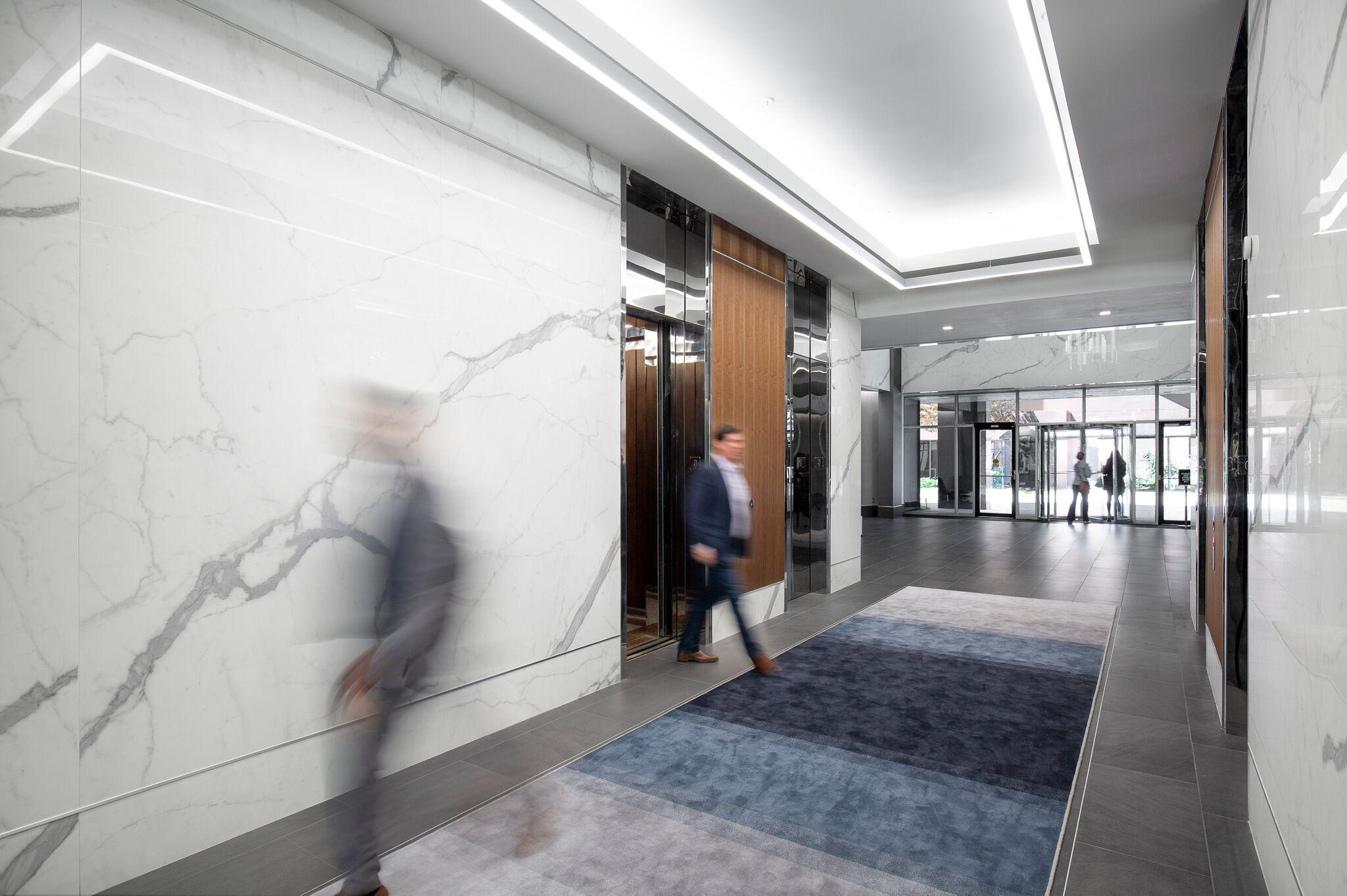 Stunning brand new lobby