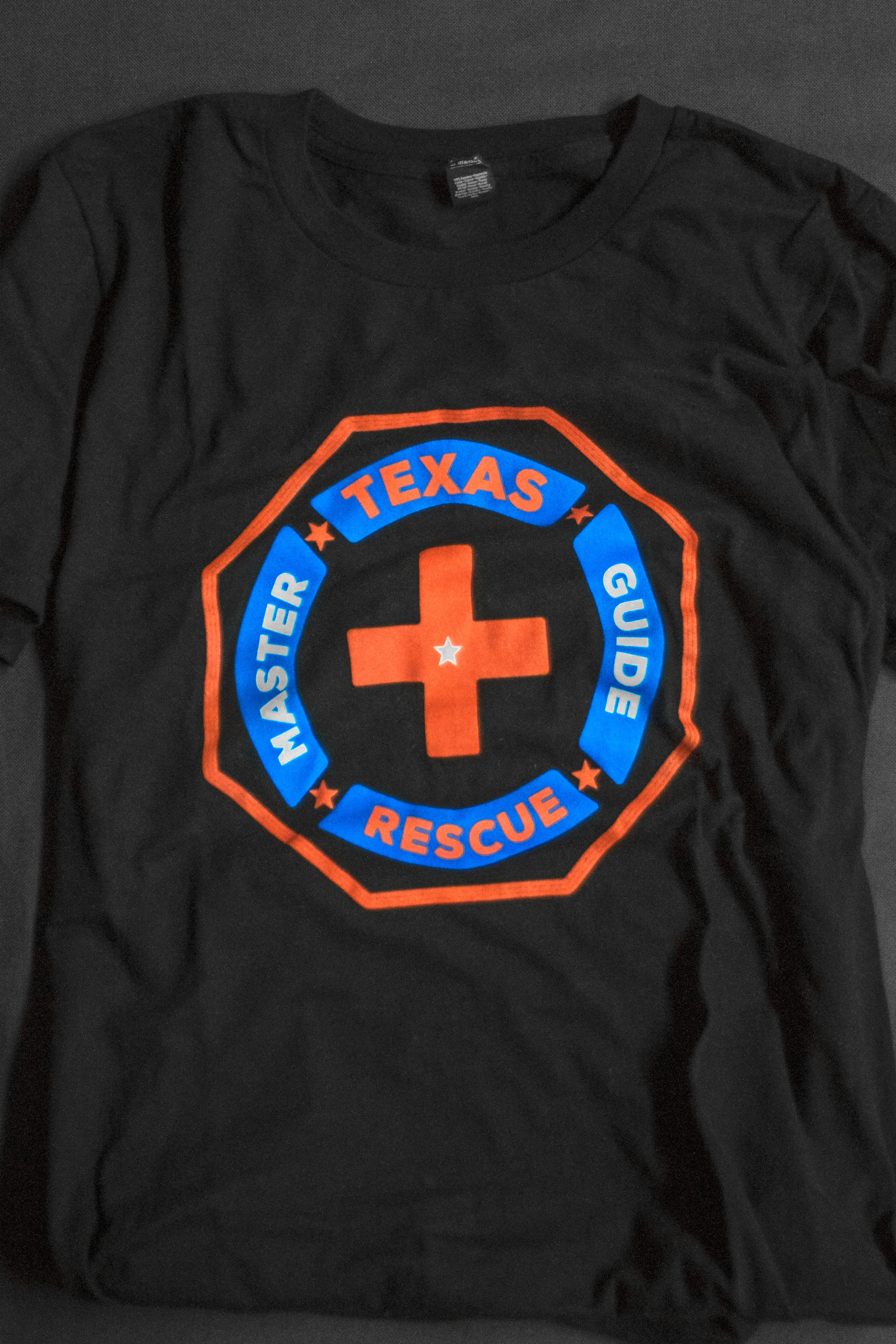 MASTER GUIDES -  TX RESCUE TEE    $10.00