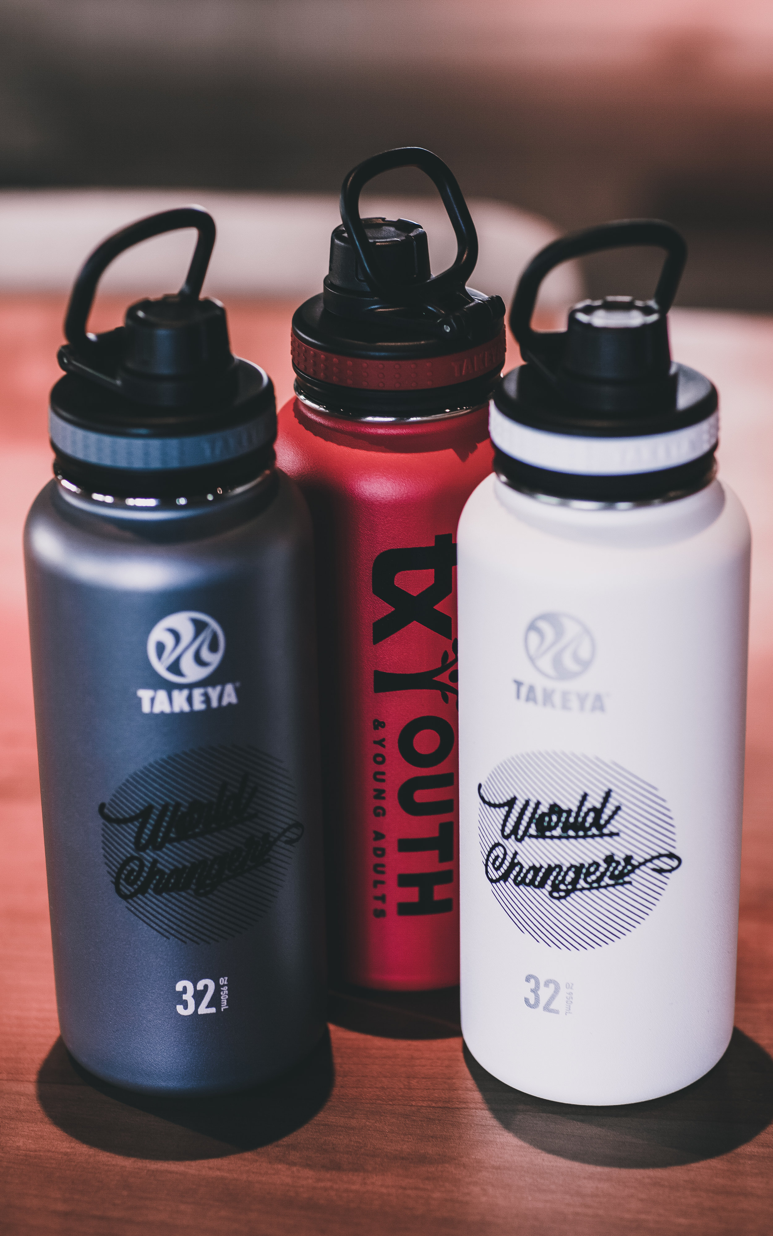 TX YOUTH -  (32 oz) THERMAL BOTTLE    $30.00 | Currently in: Grey | Black | White | Red | Navy | Blue