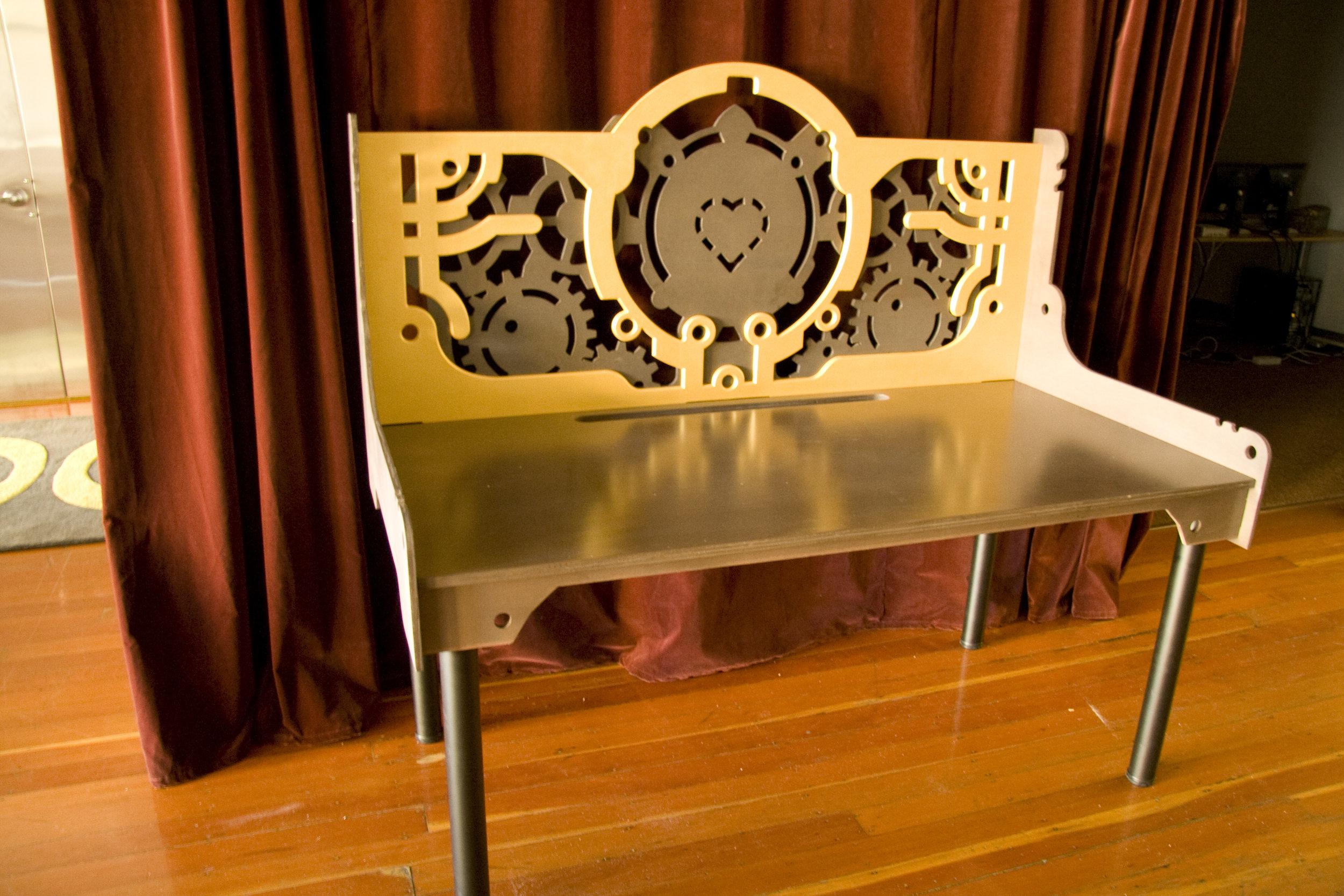 Custom-built bench