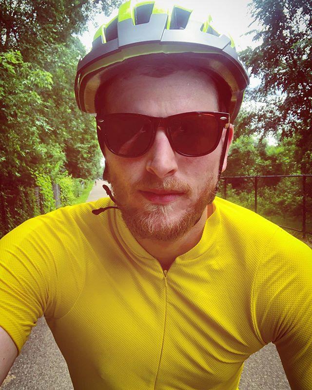 Enjoying my new hobby wondering why I didn't start biking a long time ago. Getting ready for the @redribbonride! #5weeksandcounting