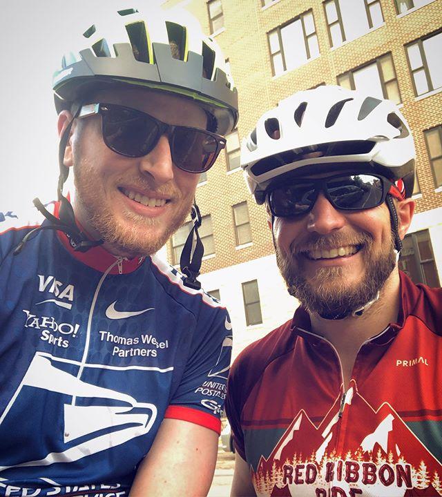 Biker chix. Thanks for guiding me today @cody_lloyd87 😘👯♀️🚴♂️