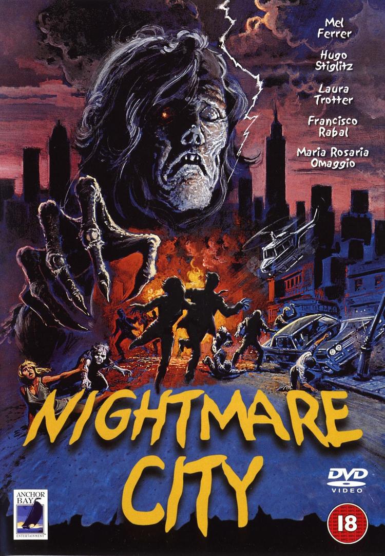 Nightmare City - Poster