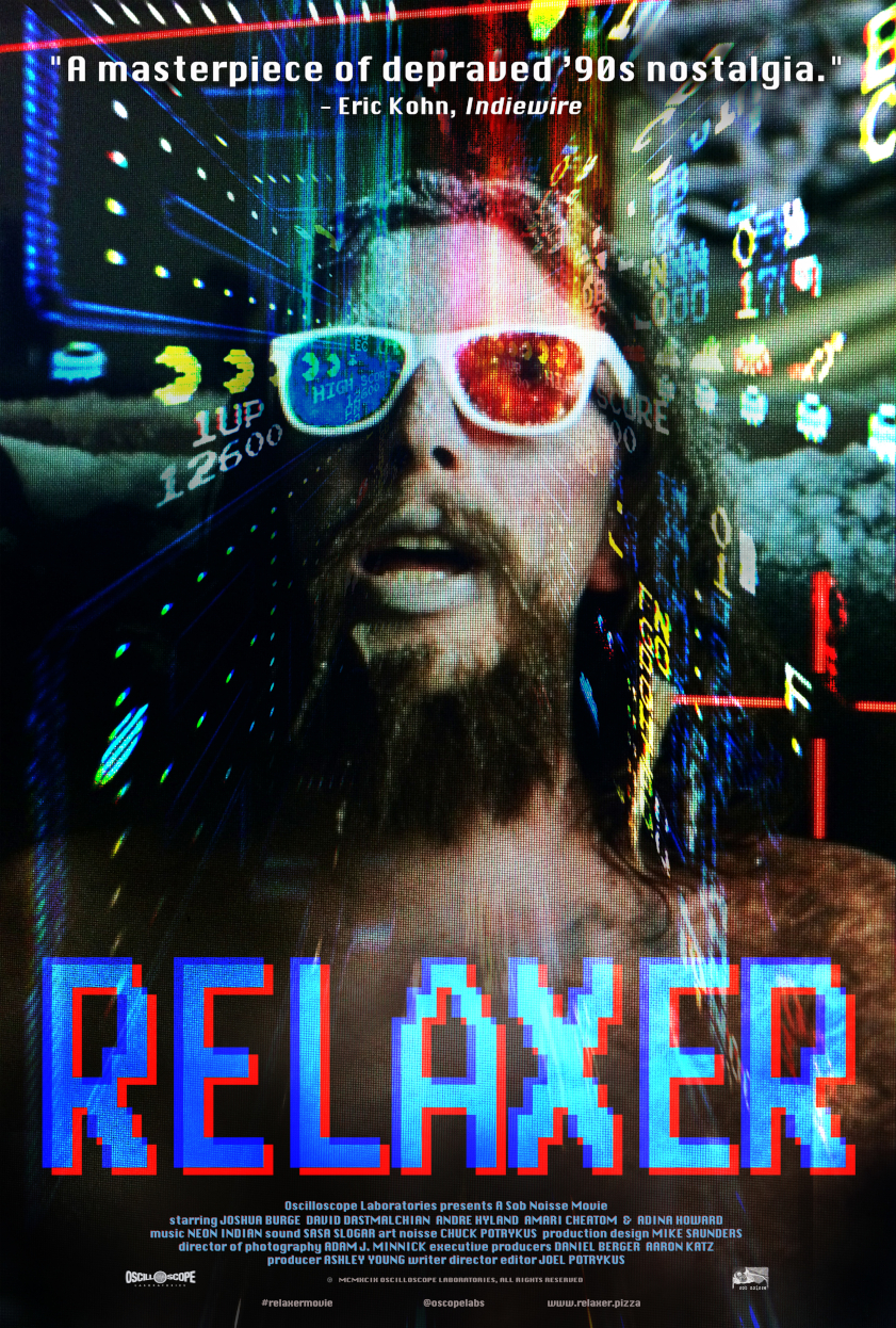 Go see  Relaxer  out now!