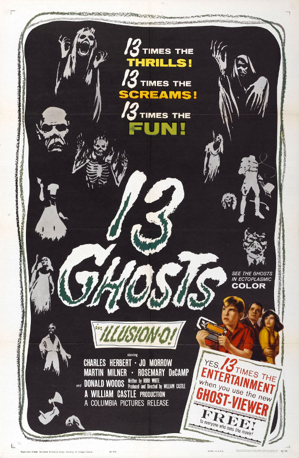 13 Ghosts (1960) - Poster.jpg