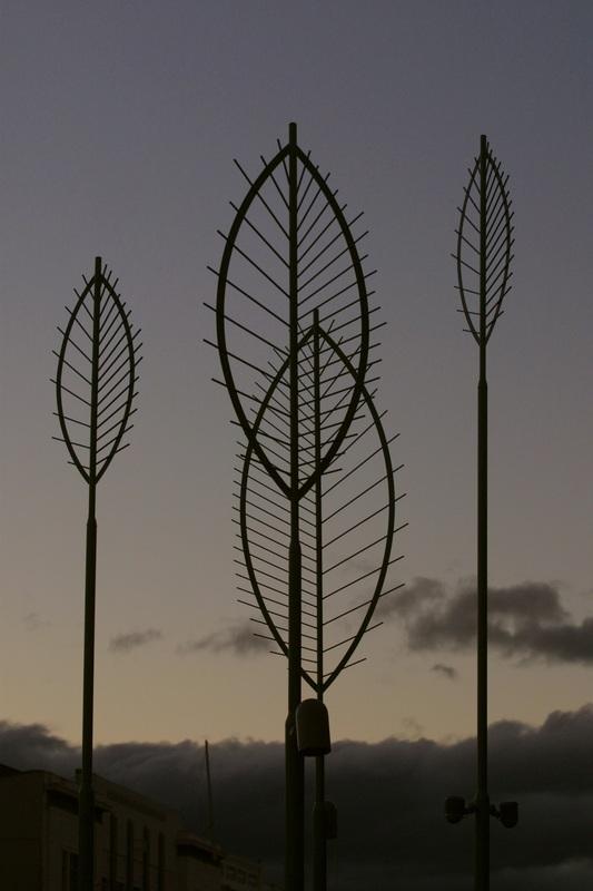 'Leaf Lights' by David Trubridge