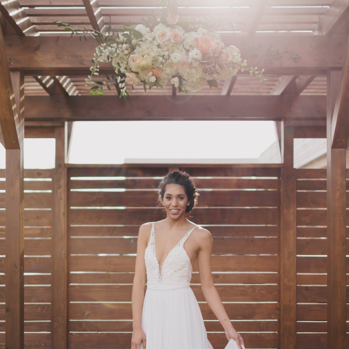 Modern Farmhouse Wedding Inspiration   8th and Main Styled Shoot