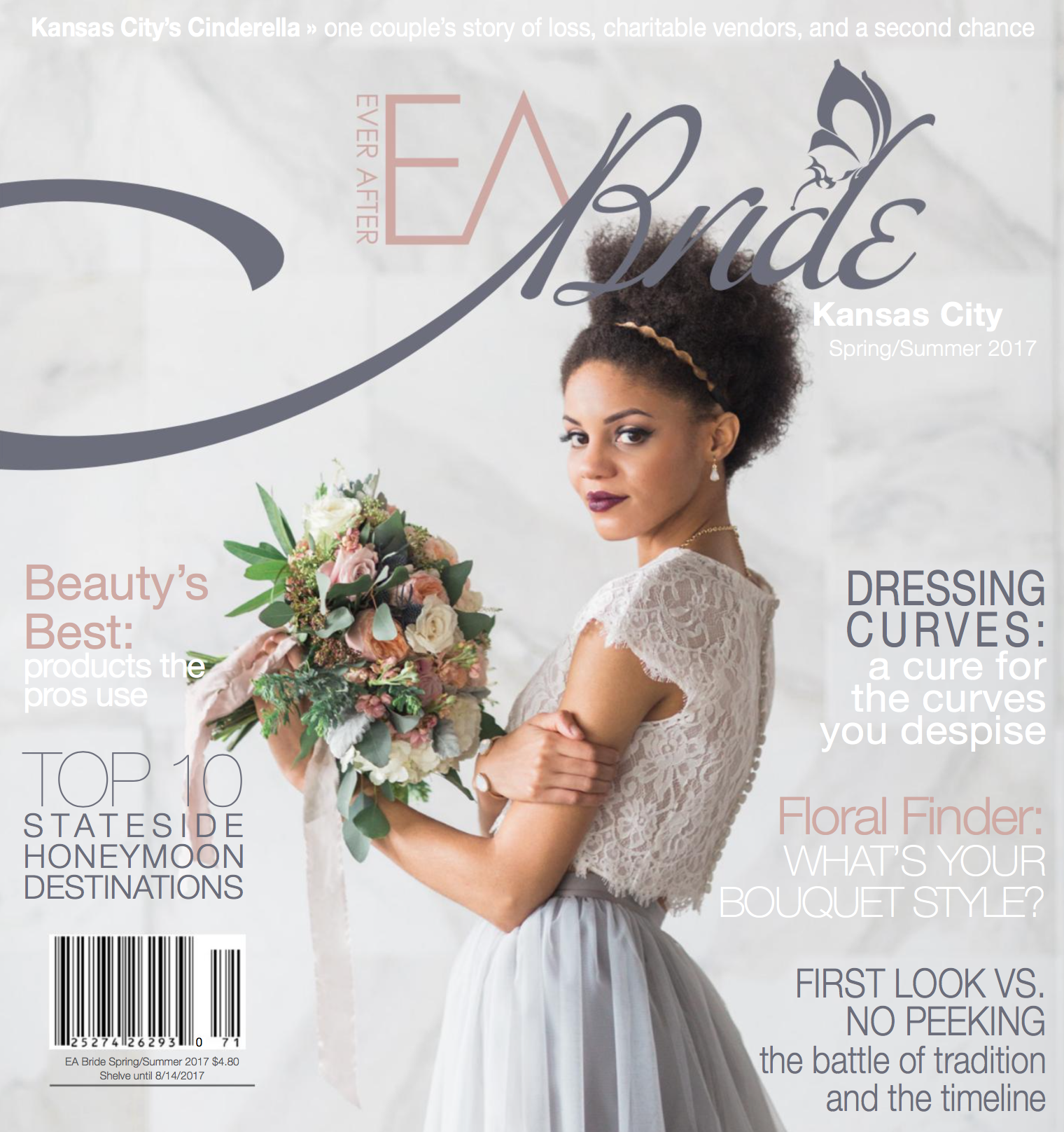 EA Bride Spring/Summer 2017 Cover   Grand Geo Gestures (cover, pg 55-61)