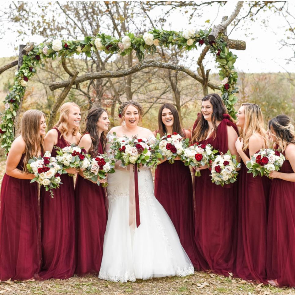 Zola   Romantic Fall Wedding in Kansas