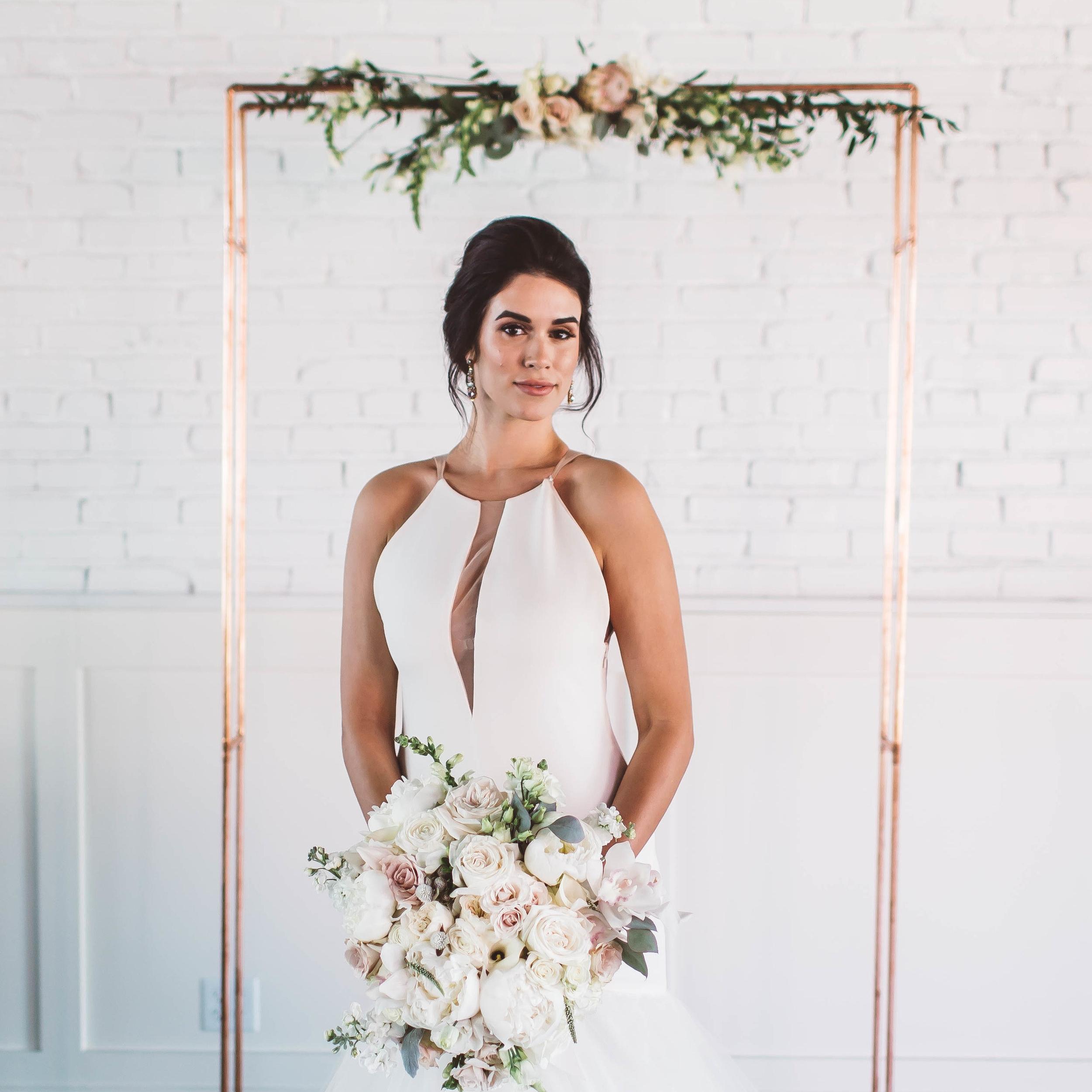 Martha Stewart Weddings   Rose Gold Wedding Ideas That Make a Statement