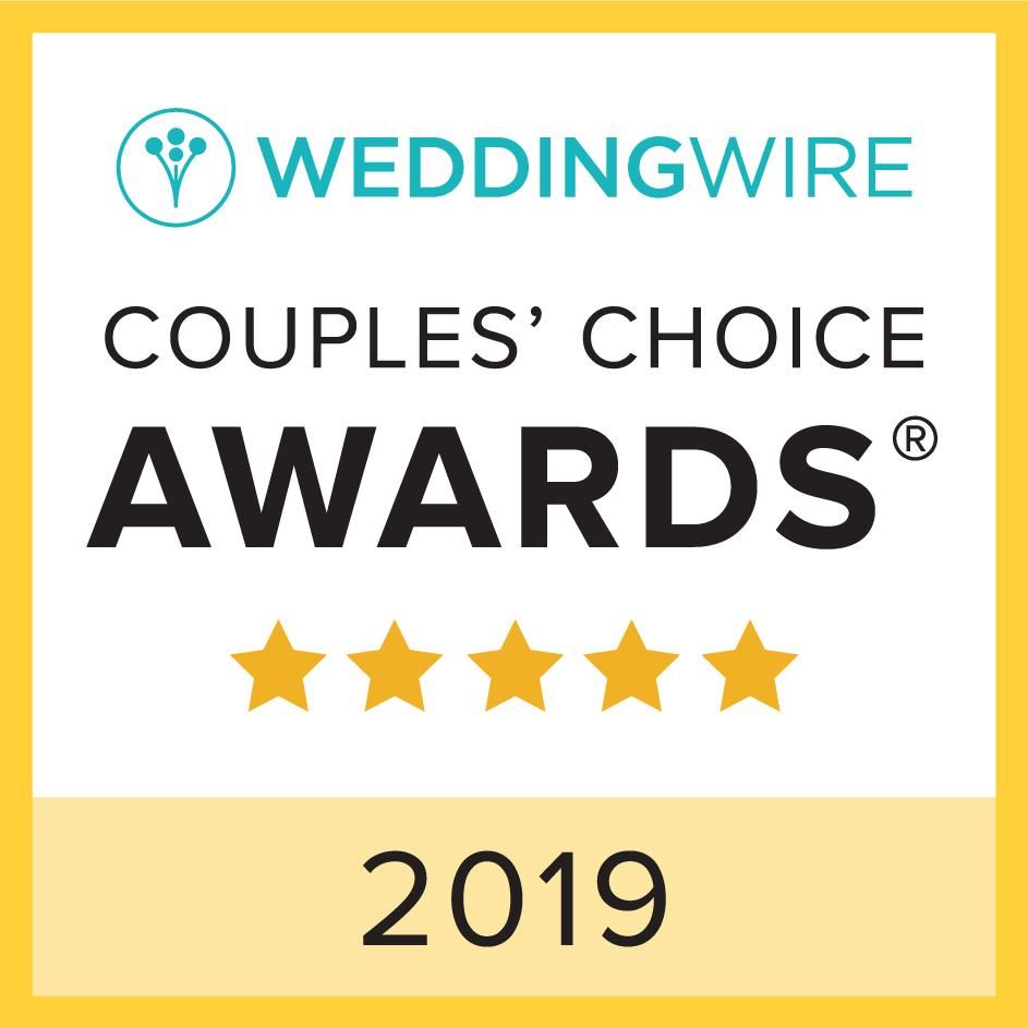 Wedding Wire Couples' Choice Awards   Couples' Choice Awards Winner 2015, 2016, 2017, 2018 & 2019