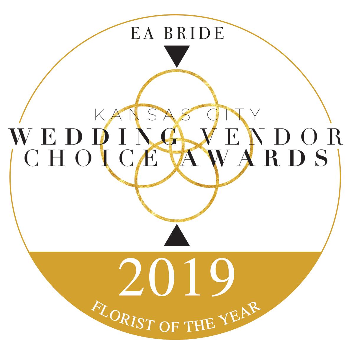 KC Wedding Vendor Choice Awards   2019 Florist of the Year
