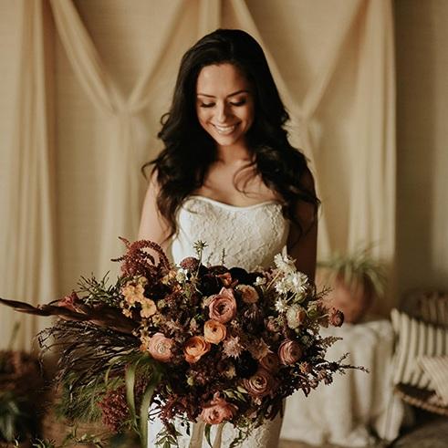 Ruffled Blog   Boho + Global Vibes in this Intimate Wedding Setting