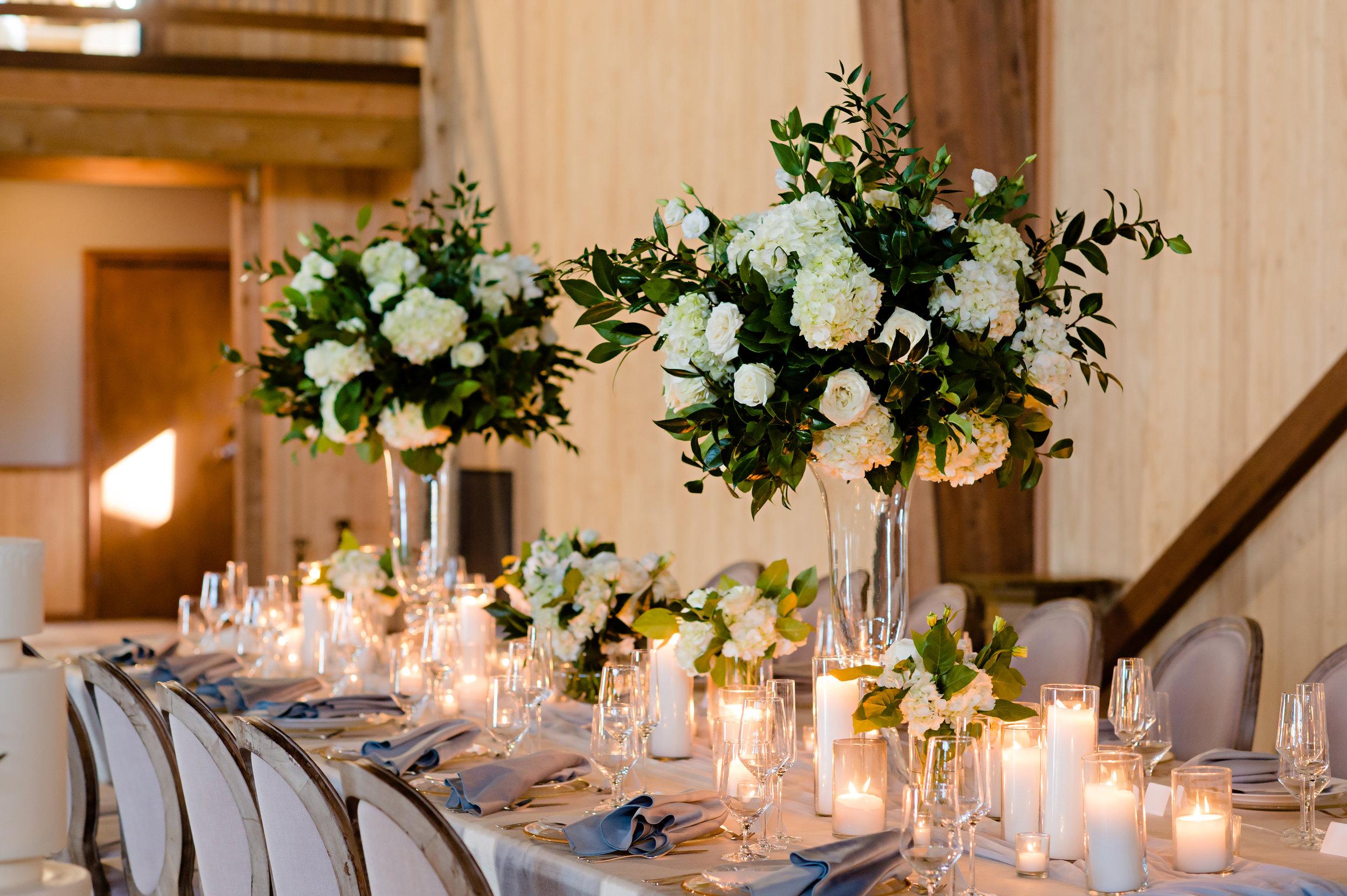 20. Large Arrangements + Candles