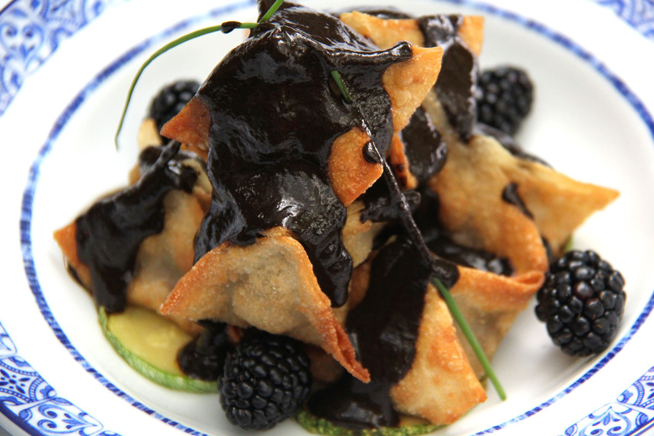 The moles made from chilhuacle are complex, smoky, and subtle sauces, says chef Ricardo Muñoz Zurita. Photo courtesy of Ricardo Muñoz Zurita, Azul restaurants.