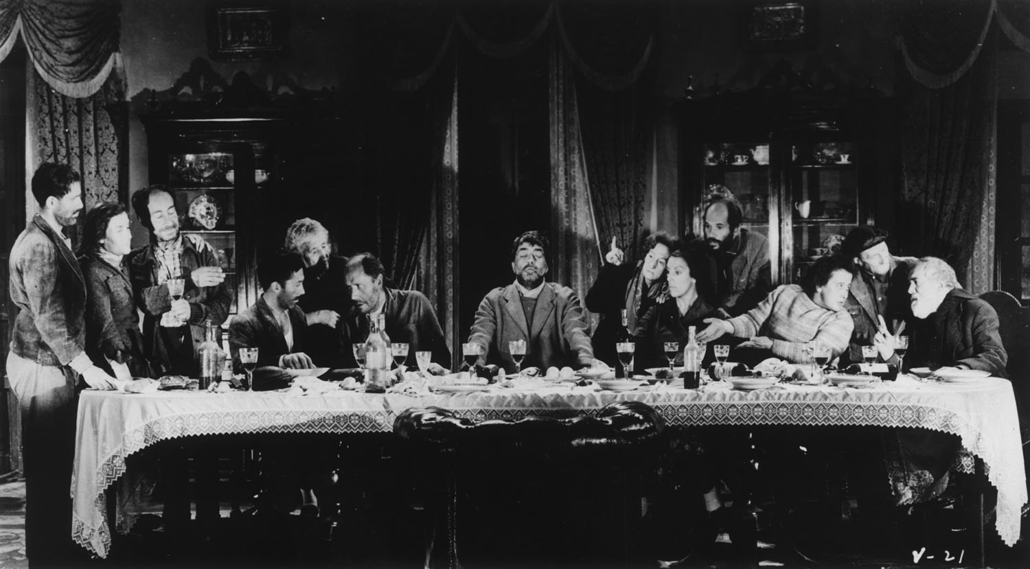 The�notorious�Last Supper sequence in�Luis Bu�uel's�VIRIDIANA. �