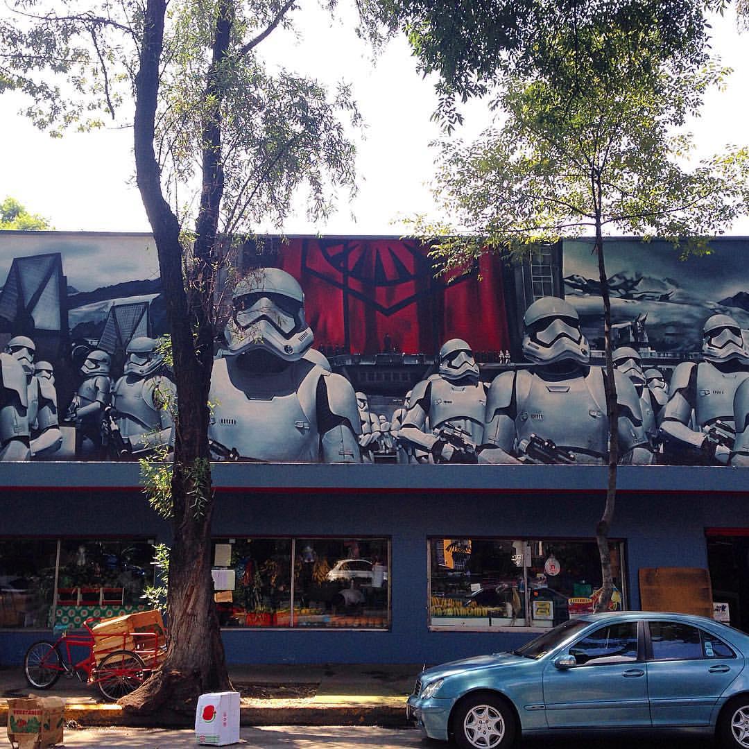 Mercado Condesa Stormtroopers