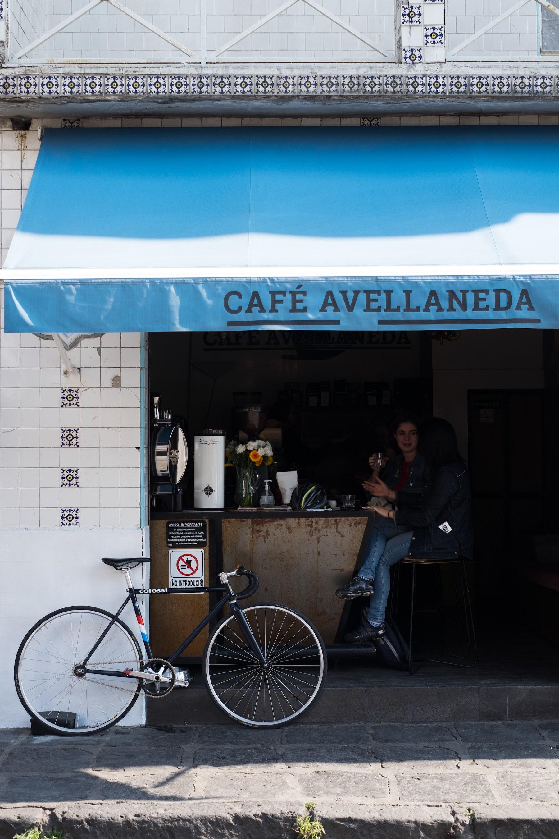 café Avellaneda, Coyoacán, CDMX