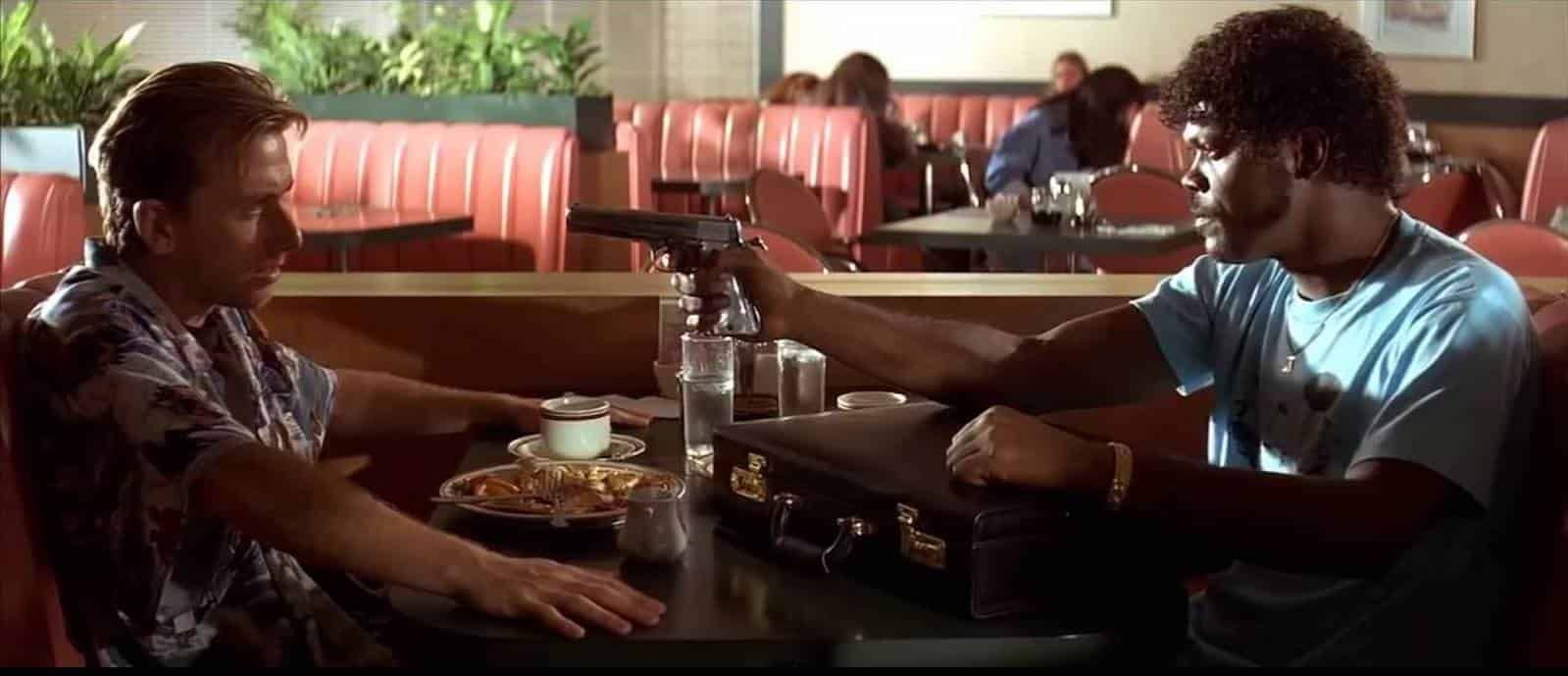 tarantino diner pulp fiction