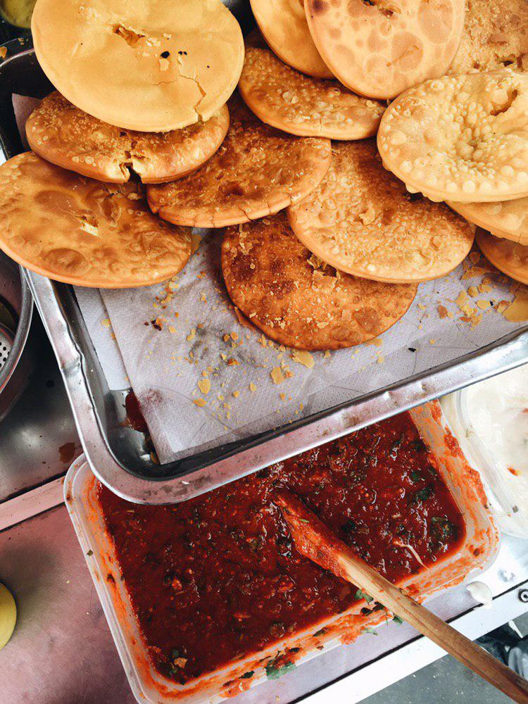 sopaipilla santiago de chile comida callejera