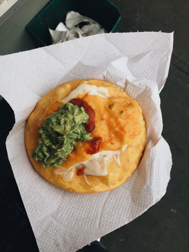 street food chilena sopaipilla