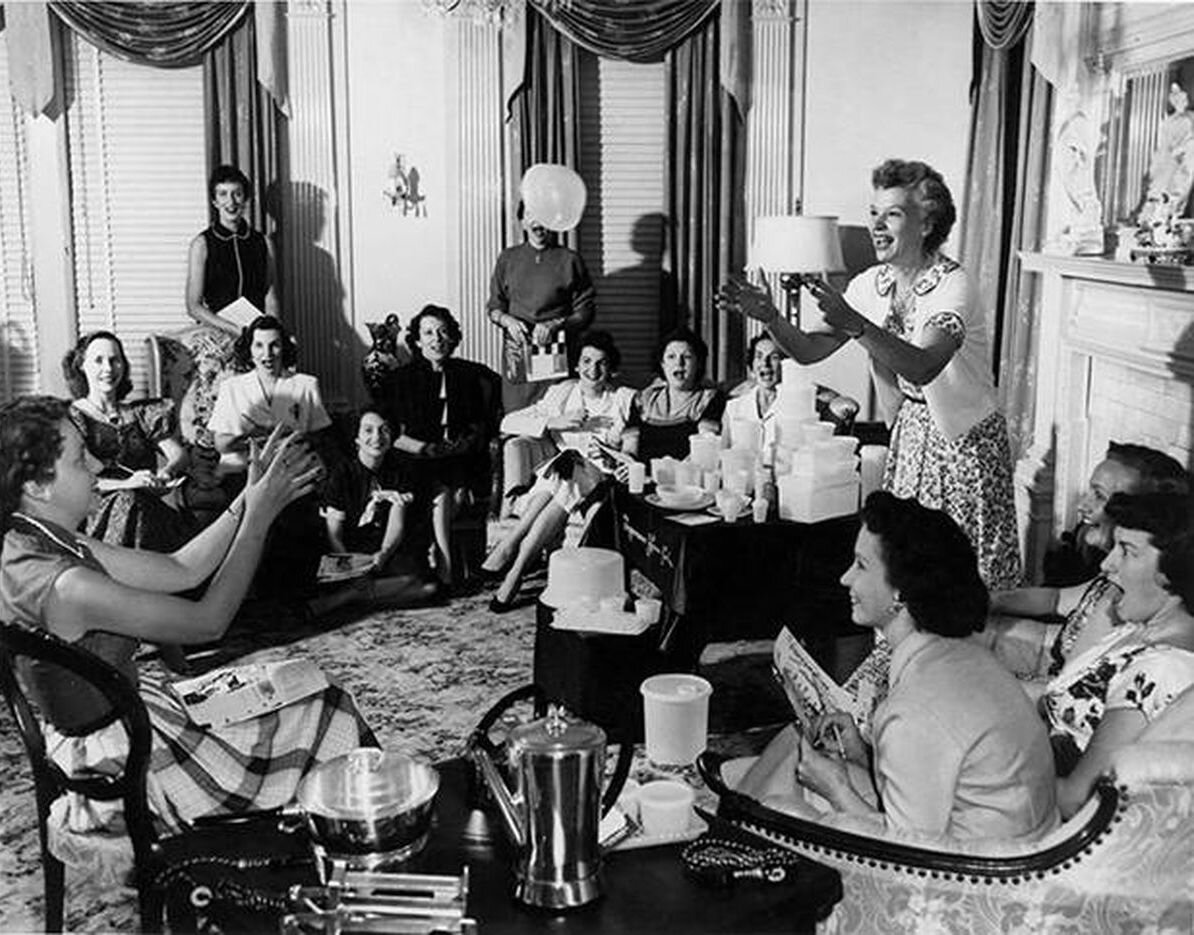 tupperware party 50s
